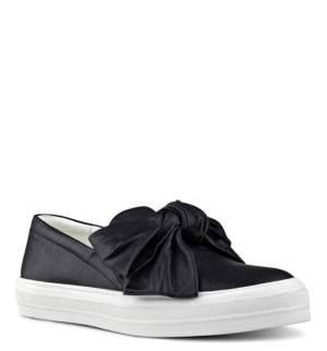 Nine West Onosha Leather Slip-On Shoes $79 thestylecure.com