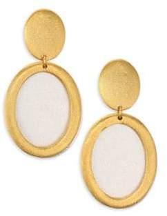 Stephanie Kantis Life Two-Tone Double-Drop Earrings