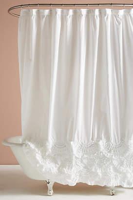 Anthropologie Rivulets Shower Curtain