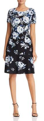 Karl Lagerfeld Paris Floral Print Dress