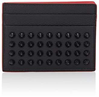 Christian Louboutin Men's Kios Leather Card Case
