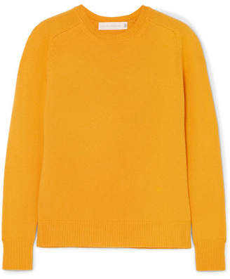 Victoria Beckham Cashmere-blend Sweater - Yellow