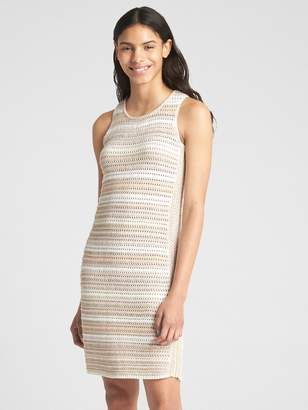 Gap Crochet Tank Dress