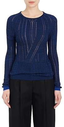 Acne Studios WOMEN'S MARCY MOULINÉ COTTON-BLEND SWEATER