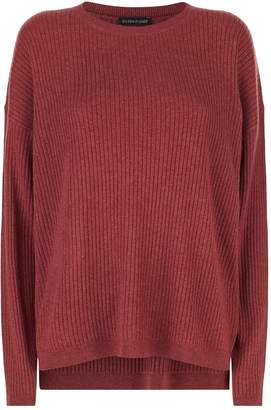 Eileen Fisher Ribbed Knit Sweater