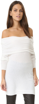 Splendid Off Shoulder Sweater $195 thestylecure.com