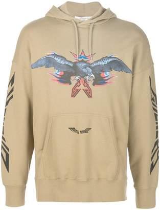 Givenchy eagle print hoodie
