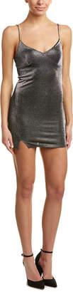 Honey Punch Metallic Slip Dress