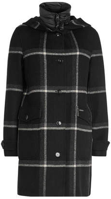 Woolrich Marcy Wool Coat with Quilted Vest