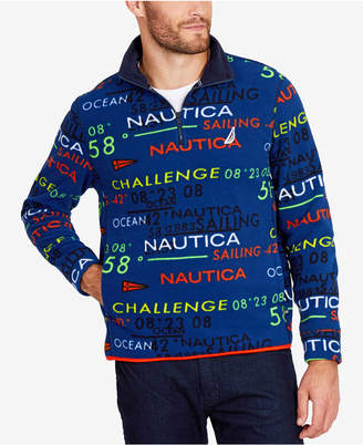 Nautica Men's Quarter-Zip Pullover