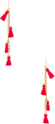 Vanessa Mooney X REVOLVE Tassel Earrings $40 thestylecure.com