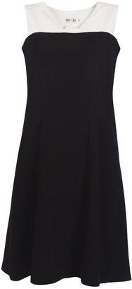 Muza Black & White Sleeveless Dress