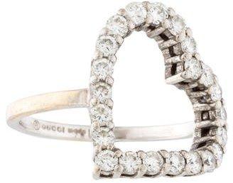 GucciGucci Diamond Heart Ring