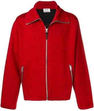 Acne Studios zippered sweater jacket