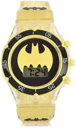 Batman Boys Yellow Strap Watch-Bat4686jc
