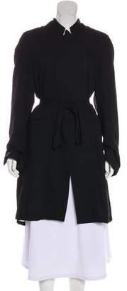 Ann Demeulemeester Lightlaine Knee-Length Coat w/ Tags