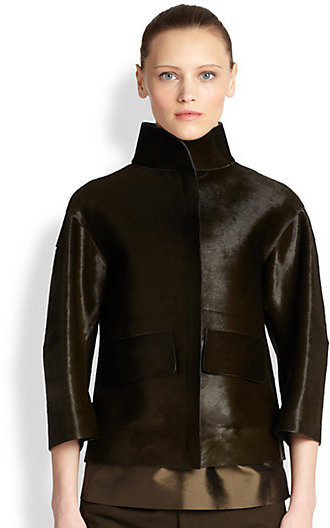 Jil Sander Calf Hair Jacket