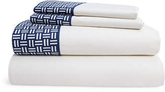 Lauren Ralph Lauren Nicola Basket-Weave King Sheet Set Bedding