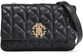 Roberto Cavalli Quilted Leather Shoulder Bag
