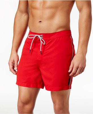 Michael Kors Men's Side Stripe Board Shorts $88 thestylecure.com
