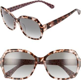 Kate Spade Amberlynn 57mm Sunglasses