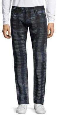 Long Flap Pocket Jeans