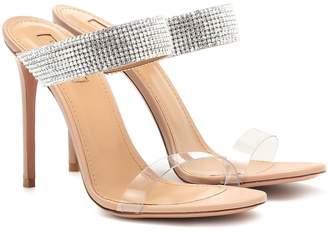 Aquazzura Spritz 105 embellished sandals