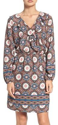 Women's Fraiche By J 'Nadia' Ruffle Blouson Dress $119 thestylecure.com