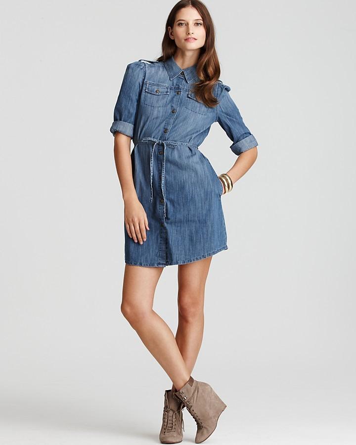 Juicy Couture Denim Shirtdress