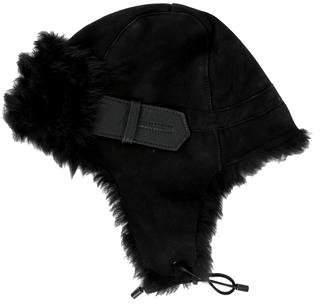 Karl Donoghue Shearling Trapper Hat