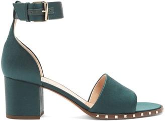 Valentino Soul Rockstud satin sandals
