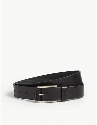 BOSS Seon leather belt
