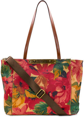 Patricia Nash Coated Canvas Silvi Travel Tote