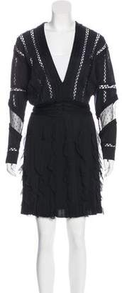 Givenchy Knit A-Line Dress
