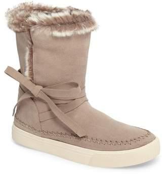 Toms Vista Faux Fur Lined Suede Boot