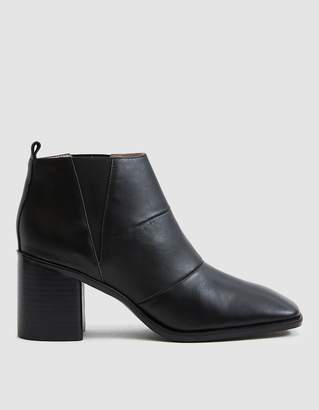 Intentionally Blank Hugs Ankle Boot in Black Leather