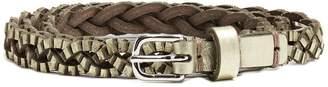 Isabel Marant Braided leather waist belt