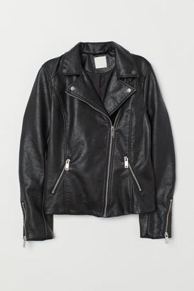 H&M Biker Jacket - Black
