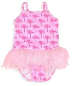 Kate Mack Baby Girl's & Little Girl's Palm Tree Tutu Swimsuit