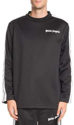 Palm Angels Logo-Graphic Long-Sleeve Track T-Shirt