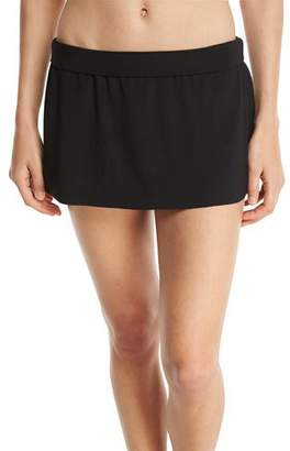 Magicsuit Basic Solid Skirted Swim Bottom, Black, Plus Size $86 thestylecure.com
