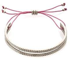 Marc By Marc Jacobs Textured Slot Friendship Bracelet(Rose Gold)