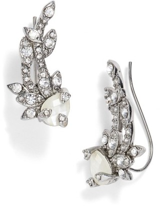 Women's Jenny Packham Ear Crawlers $48 thestylecure.com