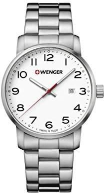 Wenger Men's 'Sport' Swiss Quartz Stainless Steel Casual Watch