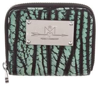 Rebecca Minkoff Leather Zip Wallet