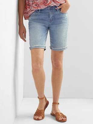 "Gap Mid Rise 9"" Denim Bermuda Shorts"