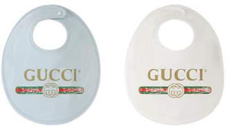 Gucci Logo Bib Gift Set