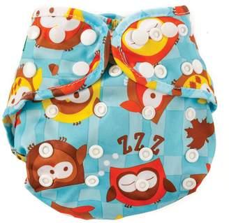 Bumkins Cloth Diaper Cover, Owl