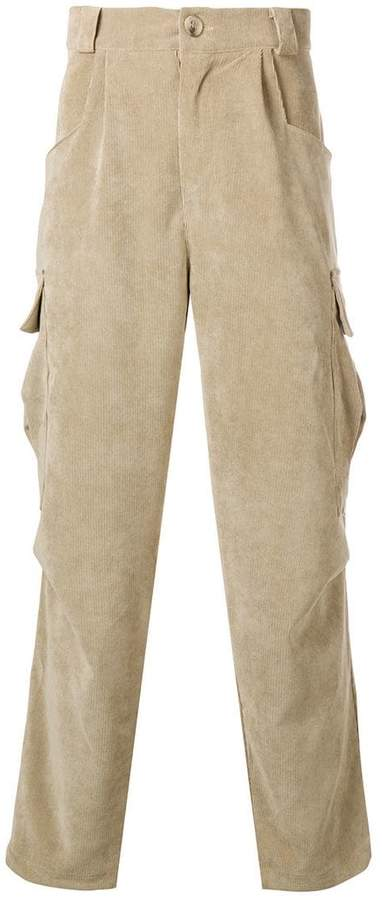 The Silted Company corduroy cargo pants