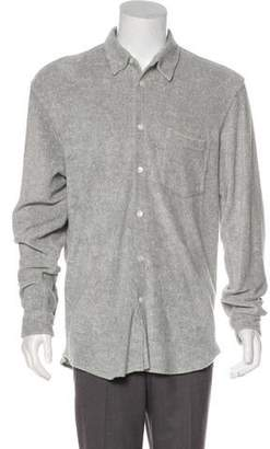 Our Legacy Textured Button-Up Shirt